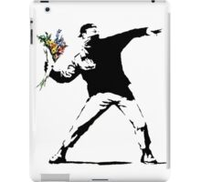 Flower Bomb Banksy iPad Case/Skin