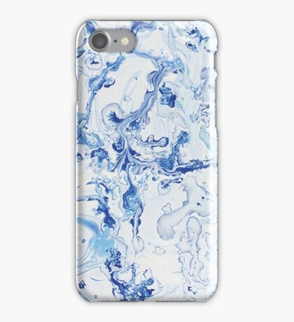 Marbled Waters iPhone Case/Skin