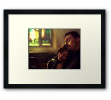 Vincent & Catherine - Chasing ghost Framed Print