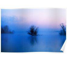 Pre-Sunrise at Chatfield Poster