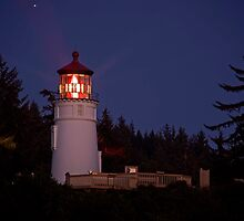 Umpqua River Lighthouse by LucyAbrao