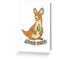 Skippy's On The Beer Greeting Card