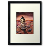 Women Who Run With Wolves Framed Print