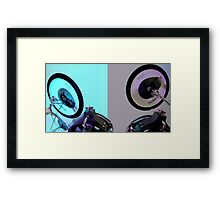Colourful Drums Framed Print