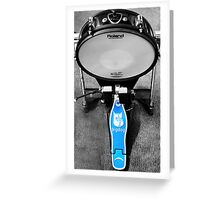 Base Drum Greeting Card