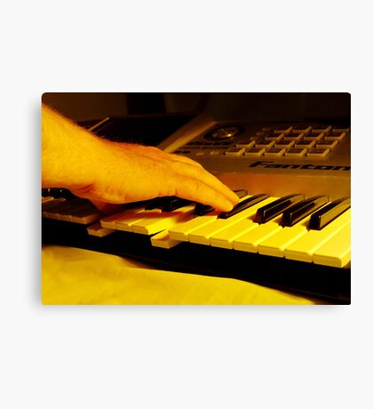Hitting The Right Note Canvas Print