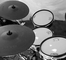 Retro Drums by AmandaJanePhoto