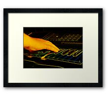 The Right Note Framed Print