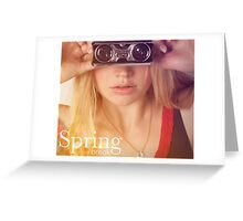 Spring Break Greeting Card