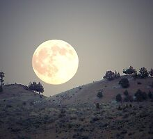 Sagebrush Moon by © Betty E Duncan ~ Blue Mountain Blessings Photography