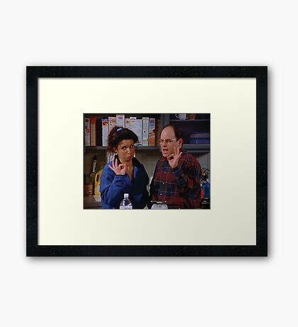 Seinfeld - Perfect Framed Print