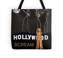 Hollywood Scream Tote Bag