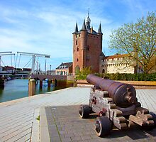 Zierikzee under Red Bubble Fire by John44