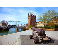Zierikzee under Red Bubble Fire Photographic Print