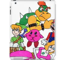 Nintendo Breakfast Club iPad Case/Skin