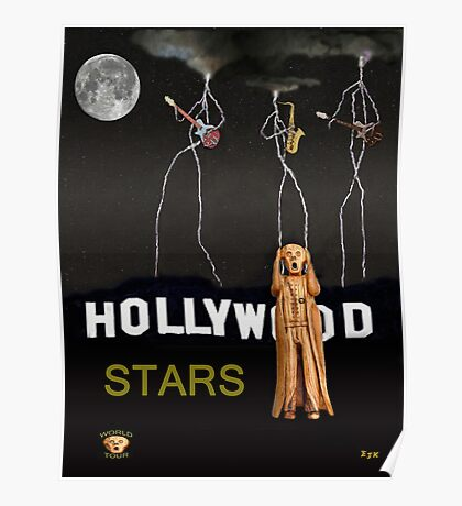 Hollywood Stars Poster