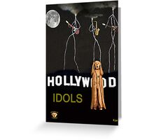 Hollywood Idols Greeting Card
