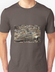 Blending in - the masked duck Unisex T-Shirt
