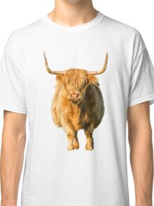 Shaggy Highland Cow Classic T-Shirt