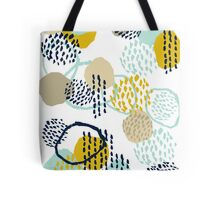 Jamm - abstract art painting brushstrokes modern minimal paint trendy colors hipster gender neutral  Tote Bag