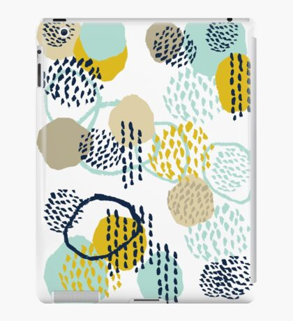 Jamm - abstract art painting brushstrokes modern minimal paint trendy colors hipster gender neutral  iPad Case/Skin