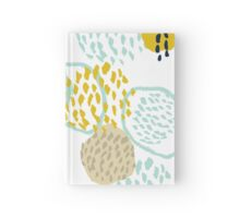 Jamm - abstract art painting brushstrokes modern minimal paint trendy colors hipster gender neutral  Hardcover Journal