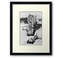 On the Beach #13 Framed Print