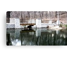 Hills and Dales bridge Canvas Print
