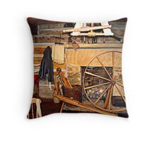Hearth and Wheel Throw Pillow