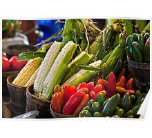 Farmer's Market Bounty Poster
