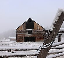 Old Barn - Fountain Valley, BC Canada by KansasA