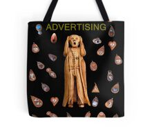 Scream Advertising Tote Bag