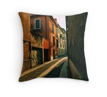 A Road in Verona Throw Pillow