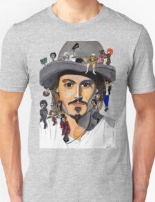 Johnny Depp no back T-Shirt