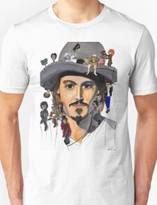 Johnny Depp no back T-Shirt