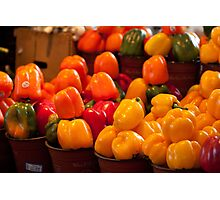 Peppers! Photographic Print