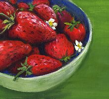 Strawberries by Genevieve  Cseh