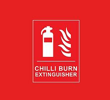 Chilli Burn Fire Extinguisher Funny Spicy Curry by CreativeTwins