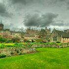 Memorial Gardens &amp; Christ Church Oxford by John Hare