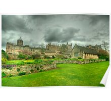 Memorial Gardens & Christ Church Oxford Poster
