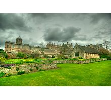 Memorial Gardens & Christ Church Oxford Photographic Print