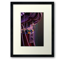 Mexican gumballs Framed Print