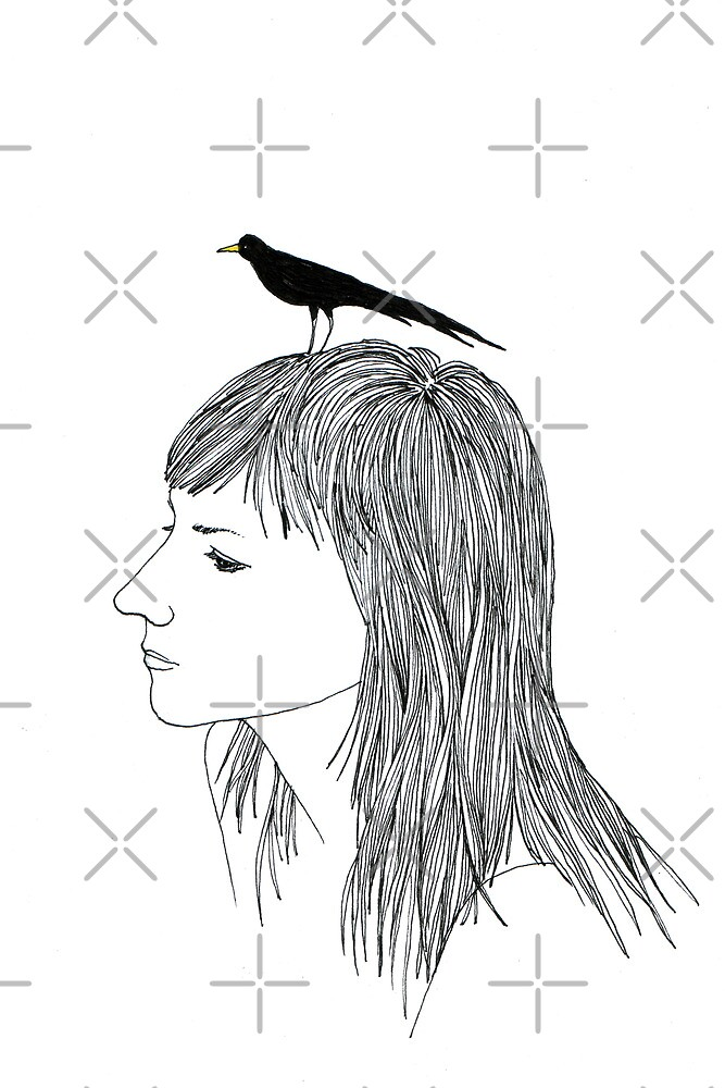 Turn into a Bird by Aleksandra Kabakova