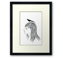 Turn into a Bird Framed Print