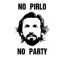 No Pirlo No Party Photographic Print
