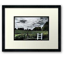 End Of Summer Days Framed Print