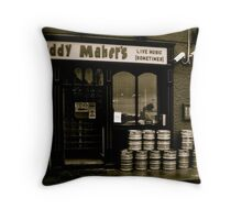 Live Music (Sometimes) Throw Pillow