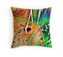 Vibrant Anthill Throw Pillow