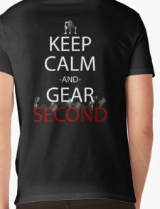 one piece keep calm and gear second anime manga shirt Mens V-Neck T-Shirt