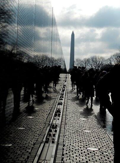 Vietnam and Washington Memorial by Taylor Katz